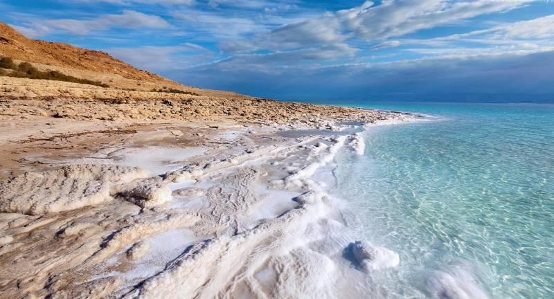 Пейзажи Мёртвого моря