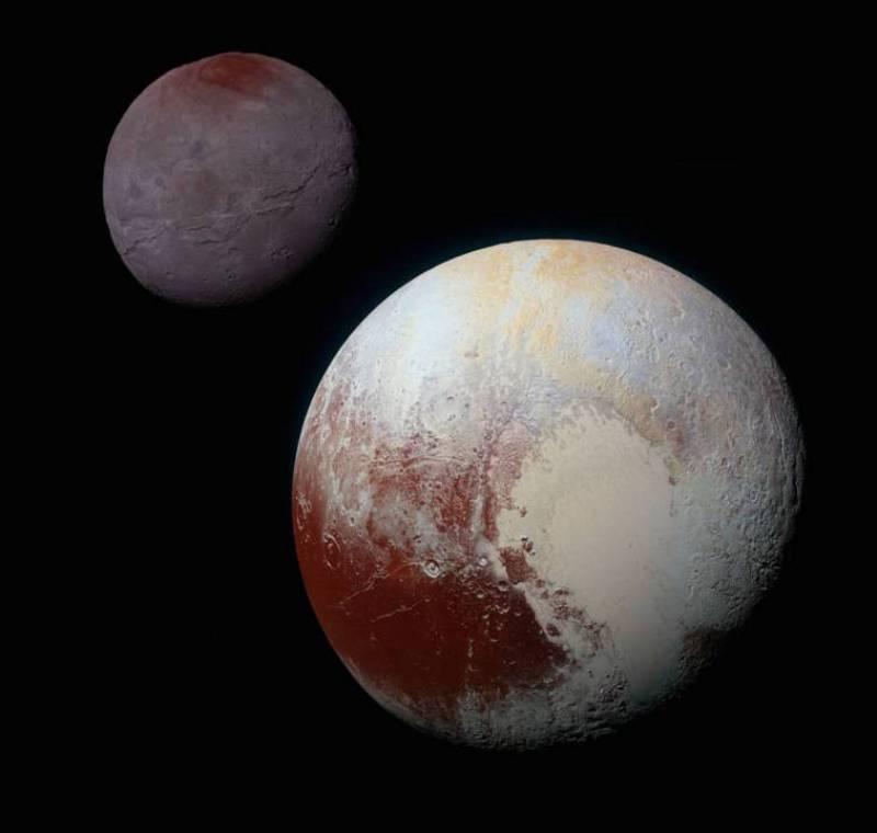 Плутон из космоса