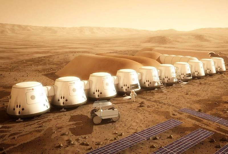 Дома на Марсе Колонизация