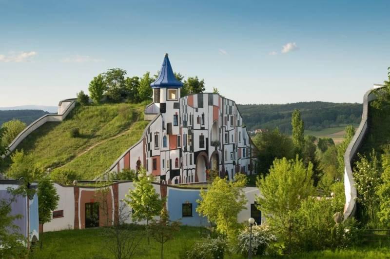Гостиница с садом на крыше