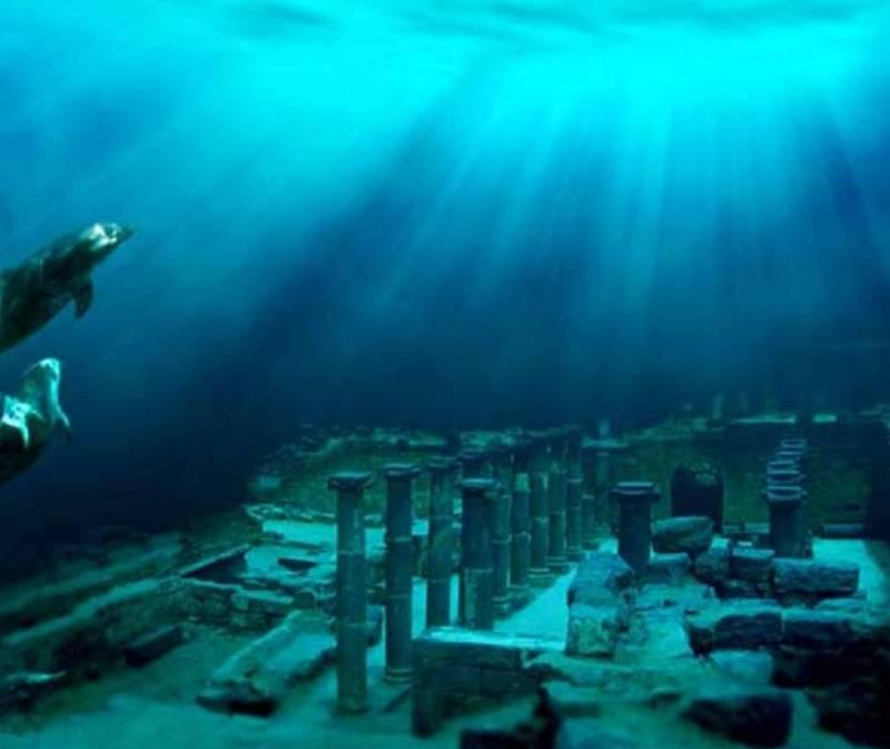 Затонувший город Дварка