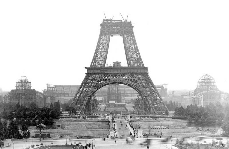 Эйфелева башня создание