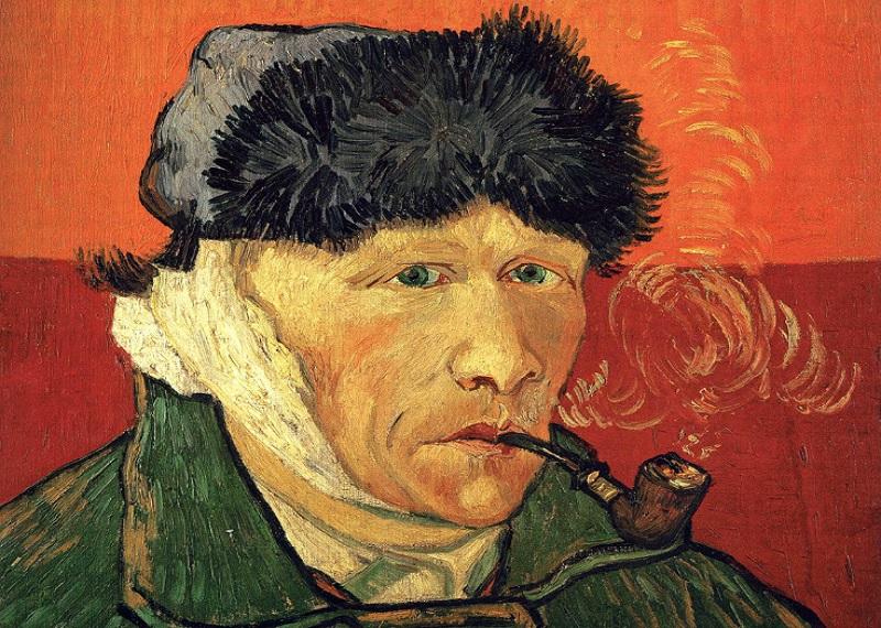 Ван Гог автопортрет, Ван Гог отрезанное ухо, Ван Гог картины