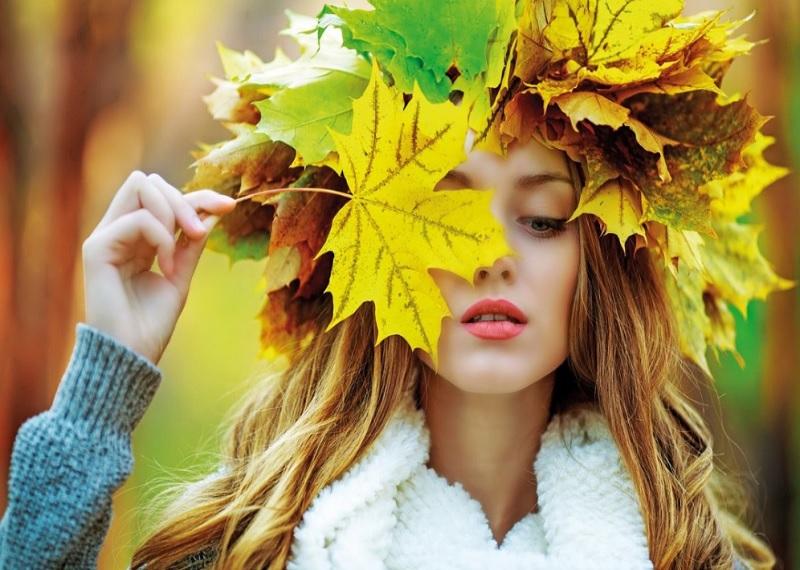 Осенняя фотосессия идеи, фото осенью, фотосессия осенью, фотосессия осень, идеи для фотосессии осенью, венок из листьев фото