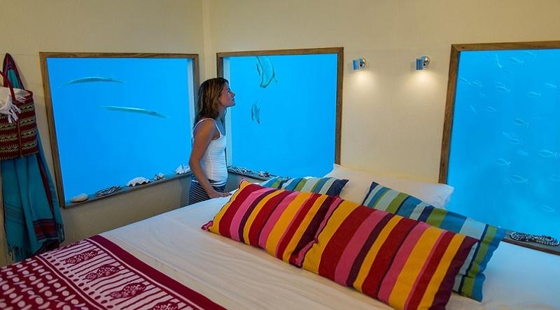 The Manta Resort, отель под водой в Занзибаре, подводная гостиница, необычные отели