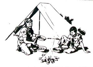 scout camping