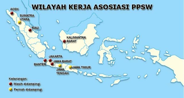 Wilayah Kerja Indonesia Asosiasi PPSW, Indonesia-jpeg