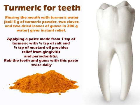 Turmeric Teeth
