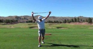 golf warm up