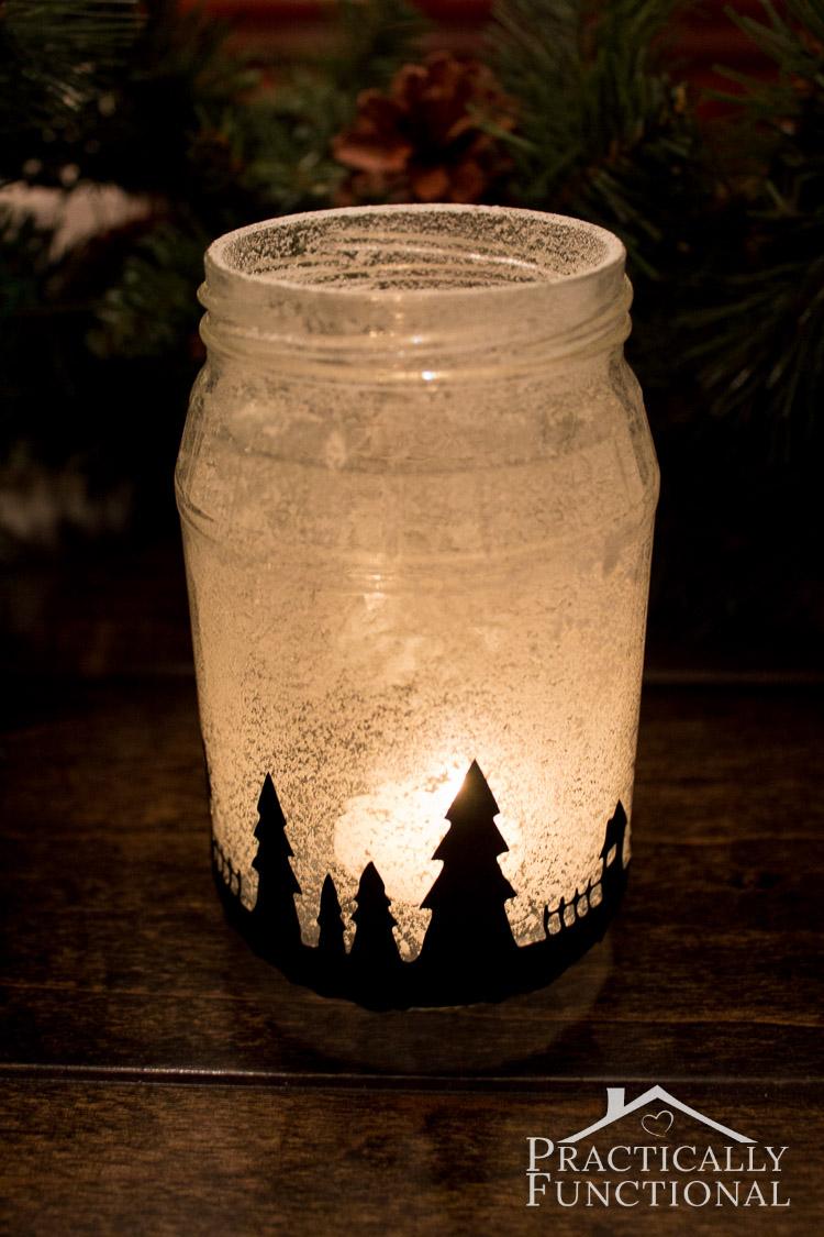 Impressive Snowy Village Silhouette Candle Jar Snowy Village Silhouette Candle Jars Mason Jar Silhouette Cricut Mason Jar Silhouette Clip Art inspiration Mason Jar Silhouette