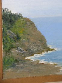 Whitehead from Burnt Head 10 x 8 Catherine