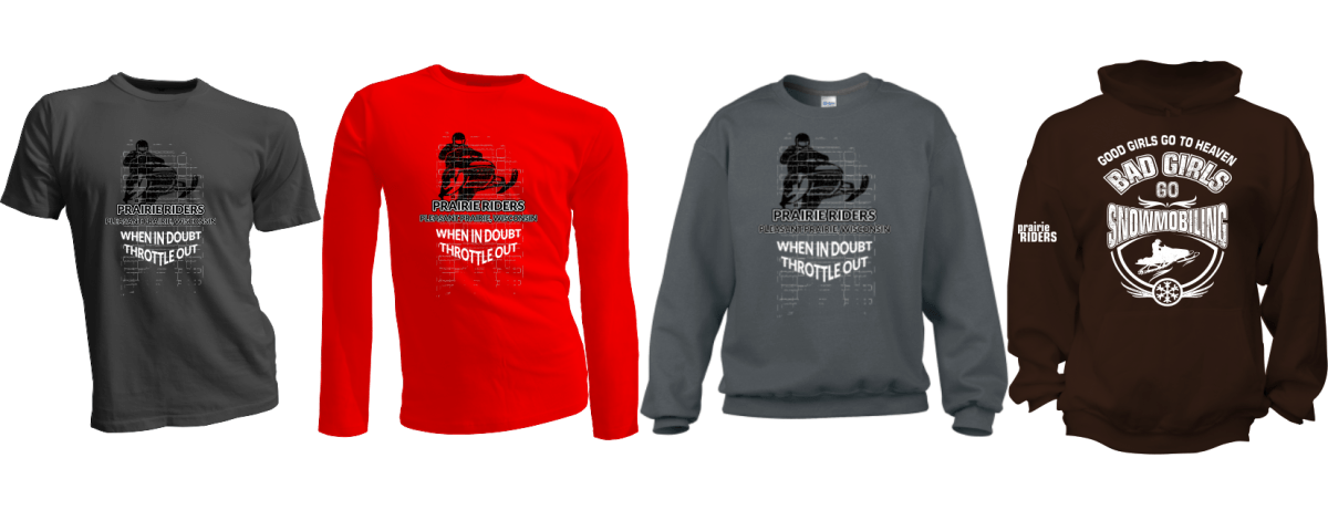 Order Your Prairie Riders Gear by February 2