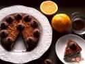 Tort de biscuiti cu portocale