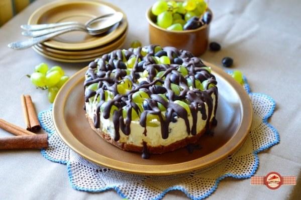 Cheesecake cu struguri