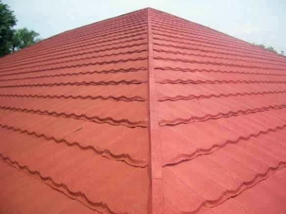 contoh atap dari metal