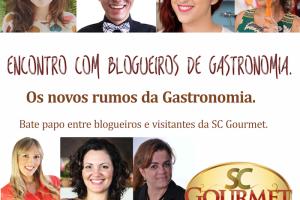 SC Gourmet 2015! Vamos lá!