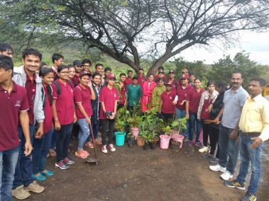 Team Tree plantation, Pune. Date 16 July 2017