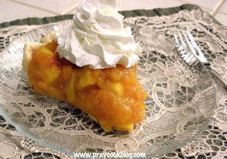 Summer's Harvest Fresh Peach Pie