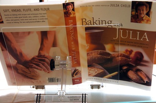 baking with julia book backside