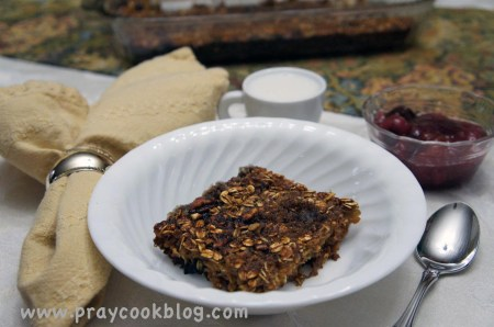 baked oatmeal healthified