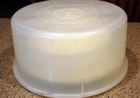 coconut cake tupperware