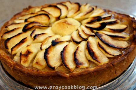 twd french apple tart finished