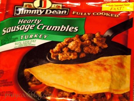 sausage crumbles