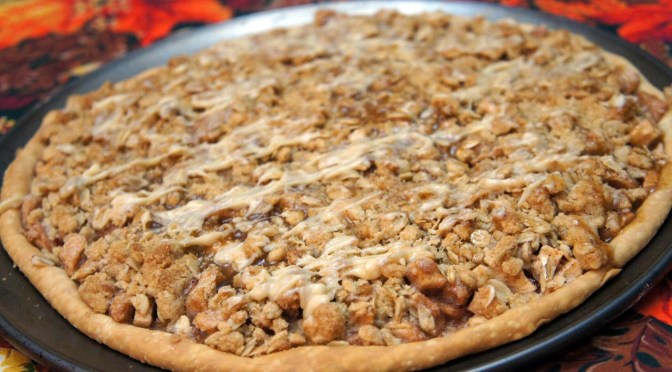 Autumn's Apple Crisp Pizza
