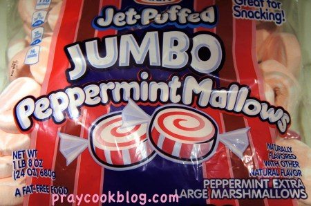 jumbo peppermint mallows