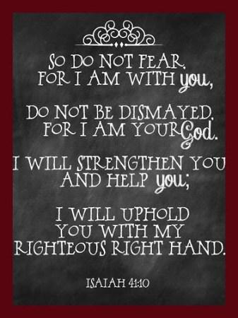 border Isaiah 41-10