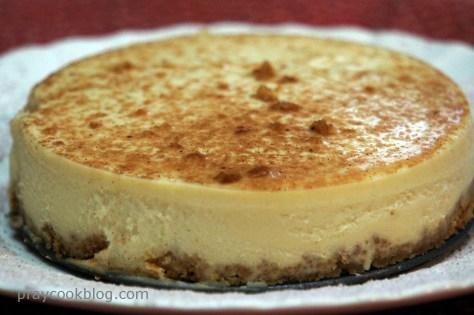 tiramisu cheesecake whole