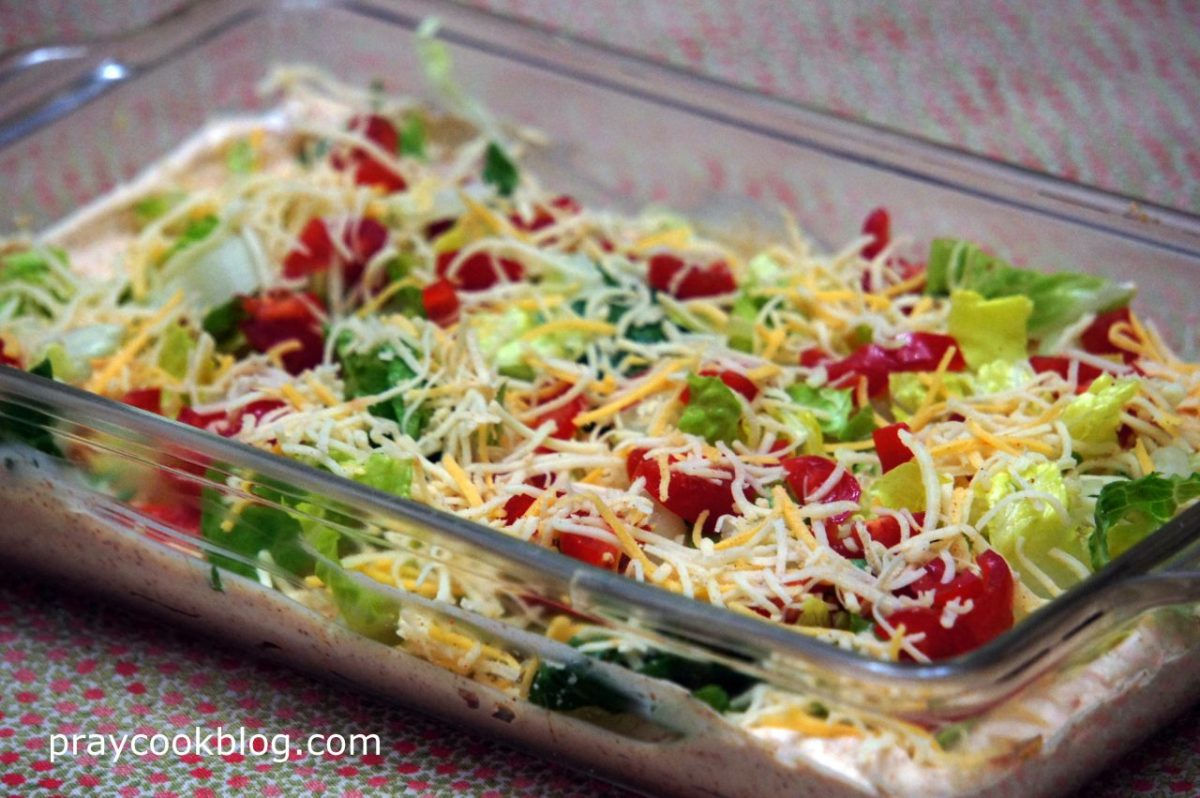 taco dip for fiesta fun my daily bread body and soul
