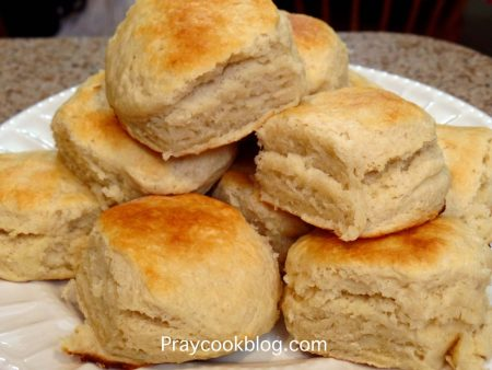 Buttermilk biscuits plateful