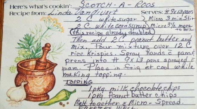 Scotch-a-roos Grandma Recipe