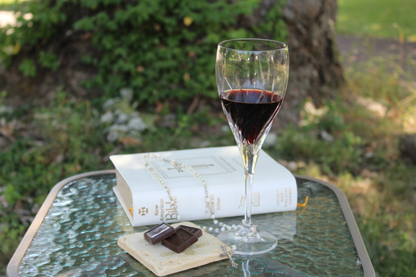 Rosary Group and The Origins of Prayer, Wine and Chocolate