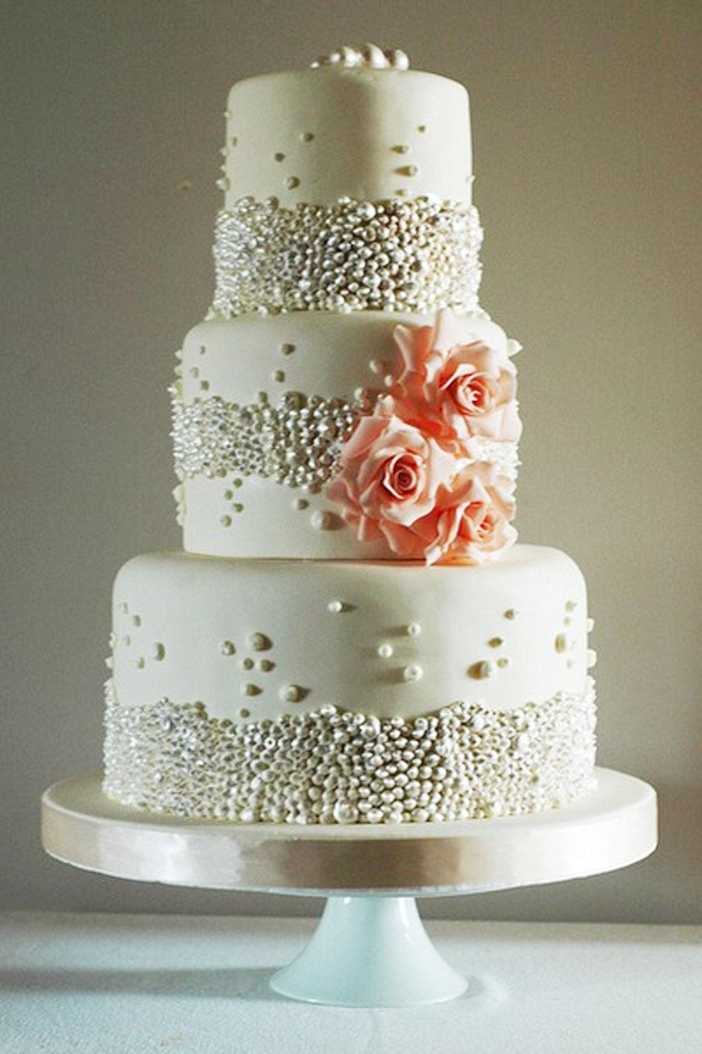 Howling Wedding Cake Beaded Wedding Cake Wedding Cake Cake Ideas By Wedding Cakes Design Wedding Cakes To Make At Home Beaded Wedding Cake wedding Simple Wedding Cakes