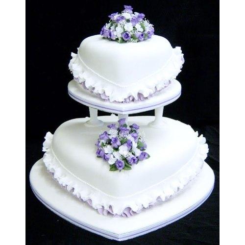 Medium Crop Of Purple Wedding Cakes
