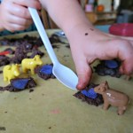 4 Ingredient Kid Made and Kid Approved Mud Dough