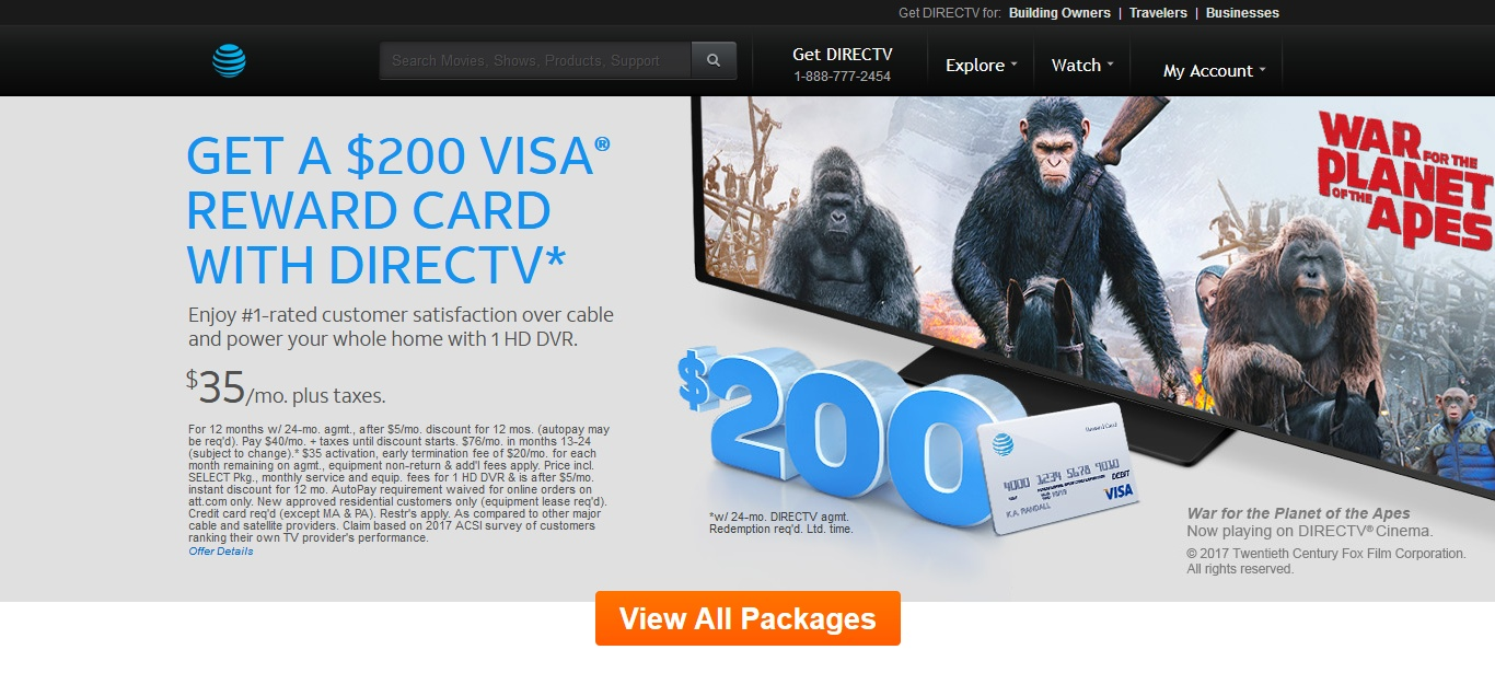 Fullsize Of Directv For Business
