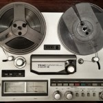 Dad's Reel-to-Reel Player
