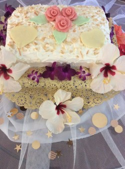 Small Of Hawaiian Wedding Cake