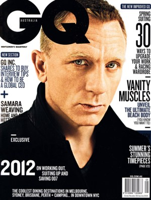 GQ Cover 2012