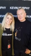 Jelena with Kevin Murphy