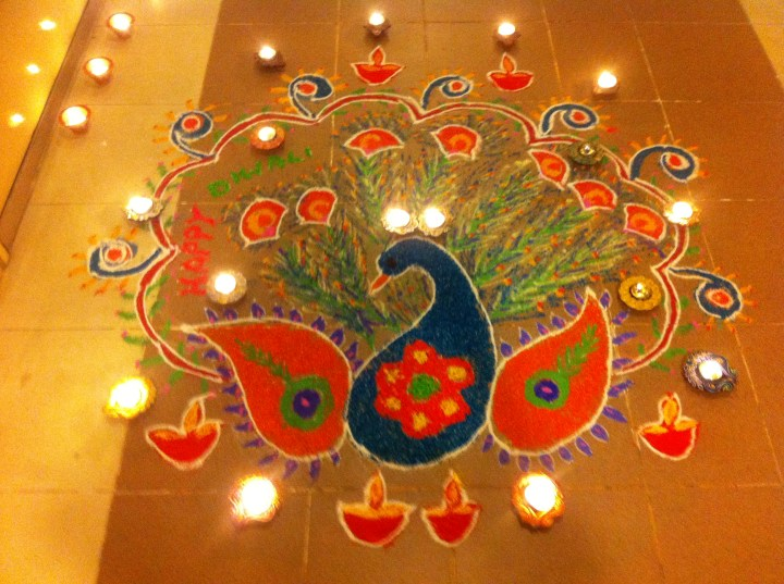 Diwali Rangoli Designs.6 Happy New Year Rangoli Designs 2014