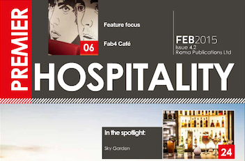 This month in Premier Hospitality Issue 4-2