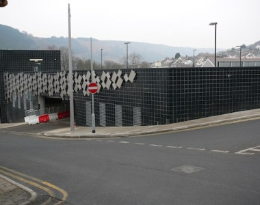 New car park boosts town's economy