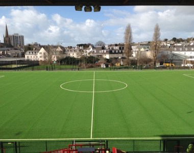 High-tech pitch puts stadium in new league