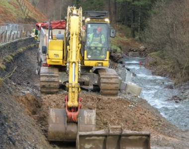 Construction Work Starts on A591 Repair in Cumbria