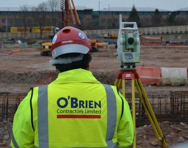O'Brien Contractors Wins A Coveted RoSPA Gold Hat-Trick