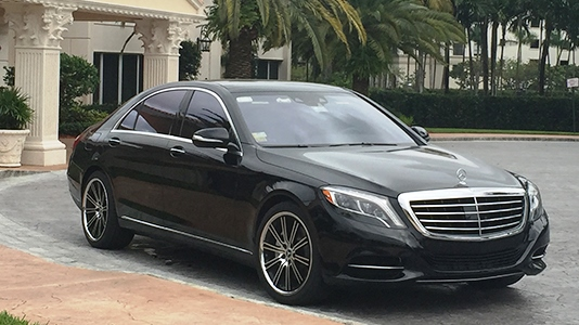 Fleet: Mercedes Benz S500
